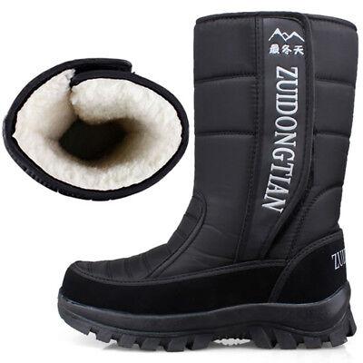 Women/'s Winter Warm Snow Boots Mid-Calf Outdoor Waterproof Sneakers Trainer UK7