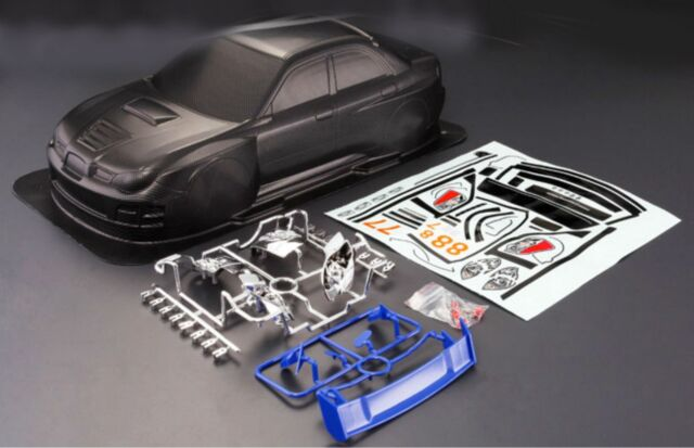 1//10 200mm RC Car Clear Body Shell For Mazda RX7 Fit HPI TAMIYA YOKOMO Chassis