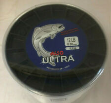 4oz Spool All B//S ORANGE ASSO ULTRA CAST Fluorocarbon Coated Fishing Line