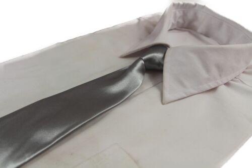 *SALE* SILVER MENS /& BOYS TIES Kids Boy Male Grey Metallic NECK TIE BARGAIN