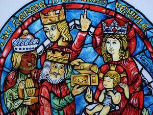 Image De Noel Jesus.Adoration Kings Noel Jesus Wise Men Christmas Plate D Arceau