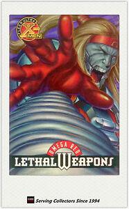 1996 Fleer Ultra X-Men Alternate Trading Card Embossed X-6 X-Man