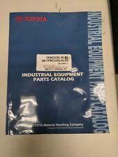 Toyota Forklift 7fbcu35 45 55 30 7fbcu35 45 55 Parts Catalog Manual