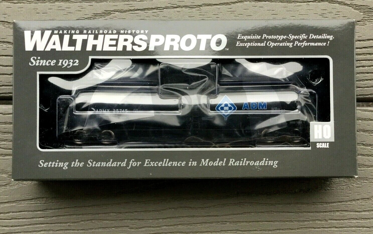 WALTHERS 1 87 HO 54' UTLX 23,000 GAL FUNNEL-FLOW TANK CAR ADMX