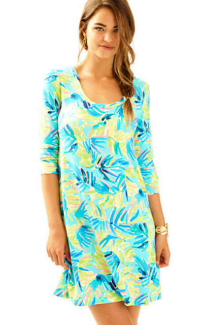 02c14d30868 Lilly Pulitzer Serenity Now Devon A-line Dress XS for sale online | eBay