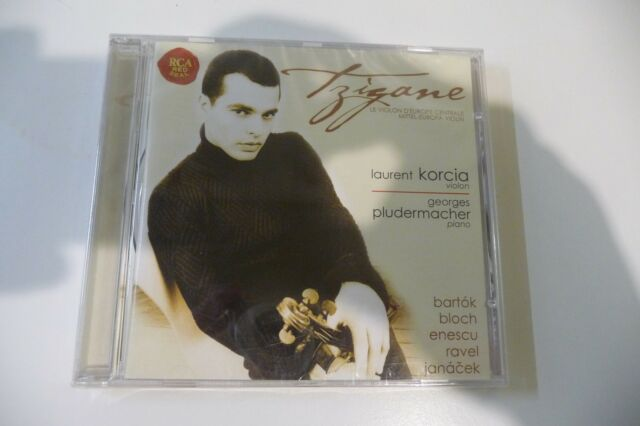 TZIGANE CD NEUF EMBALLE LAURENT KORCIA- GEORGES PLUDERMACHER.