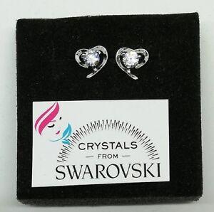 Orecchini-argento-925-e-Swarovski-punto-luce-donna-ragazza