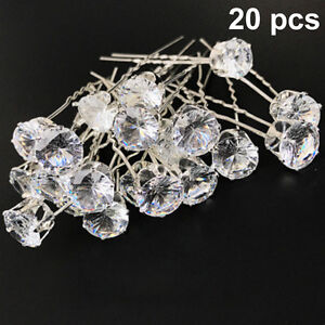 Image Is Loading More Pcs Whole Wedding Bridal Pearl Flower Crystal