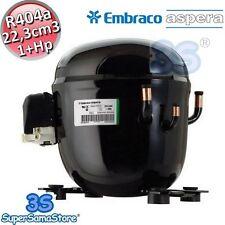 3S MOTORE Compressore R404A r507 1+ Hp 22,3 cm3 Embraco Aspera NT2192GK LBP New
