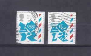 GREAT-BRITAIN-2012-LONDON-OLYMPIC-amp-PARALYMPIC-SELF-ADHESIVE-WORLDWIDE-FINE-USED