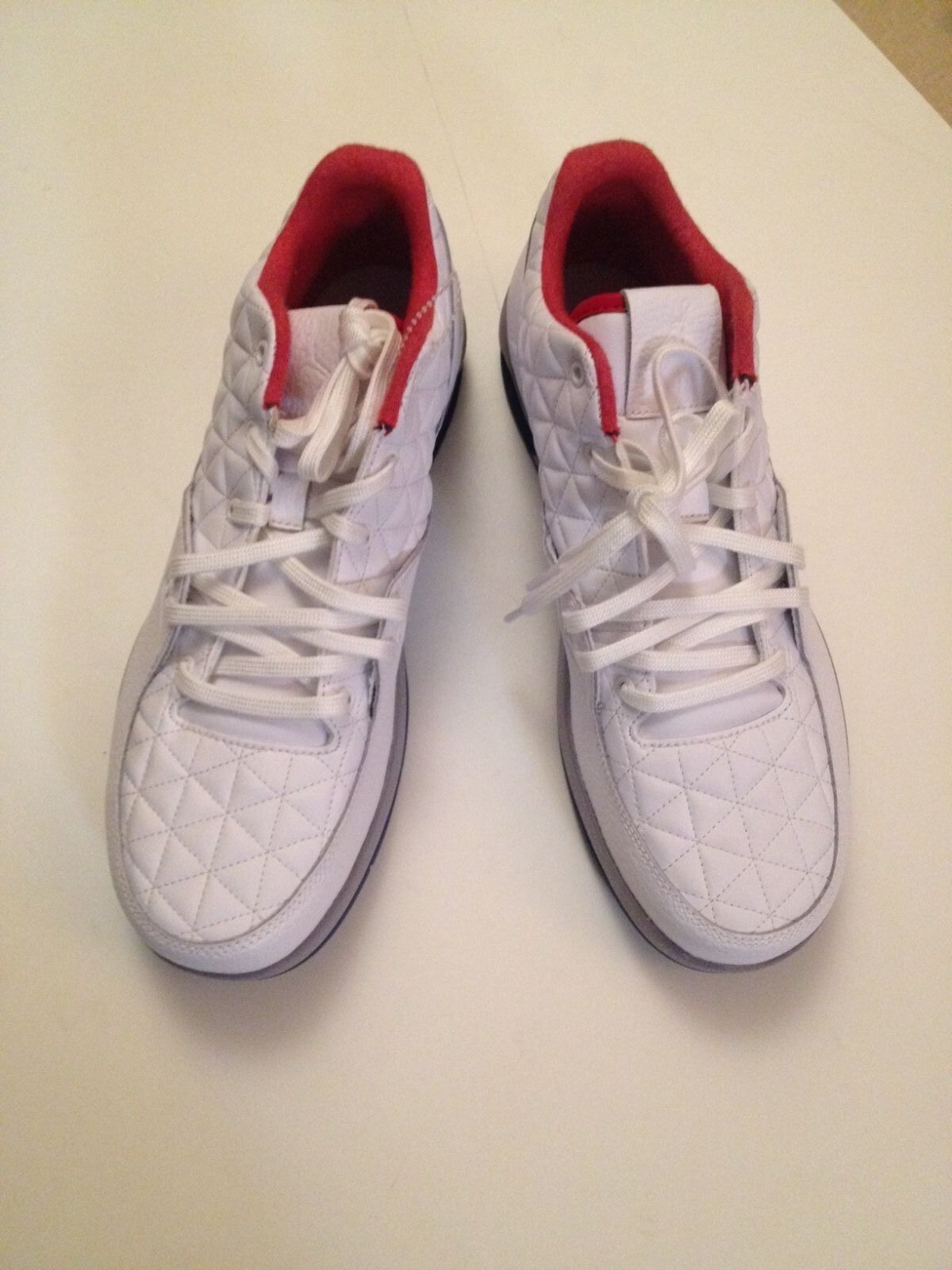 New    White Air Jordans Size 10.5