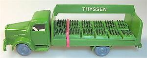 Thyssen Grand Logo Mercedes 5000 Les Bouteilles D'huile Bière Camion Imu H0 1 :