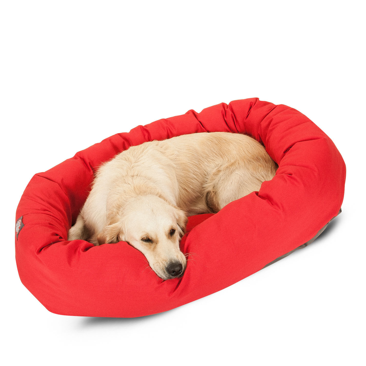 Large Red Bagel Donut  Dog Pet Bed Mat FREE Shipping