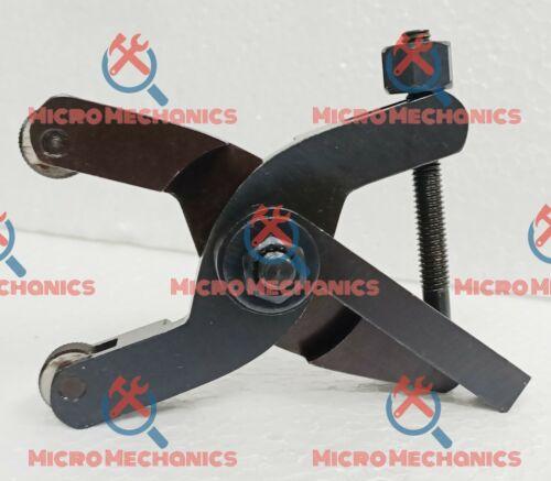 "Shank 1//2/"" Quick Action Scissor Type Knurling Tool Holder Capacity 1//16-2.1//4/"""