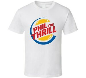 Phil Kessel The Thrill Pittsburgh Hockey Player Funny Burger King T ...