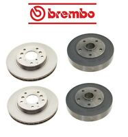 Ford Probe 89-92 Front Brake Discs With Rear Brake Drums Brake Kit Brembo on sale