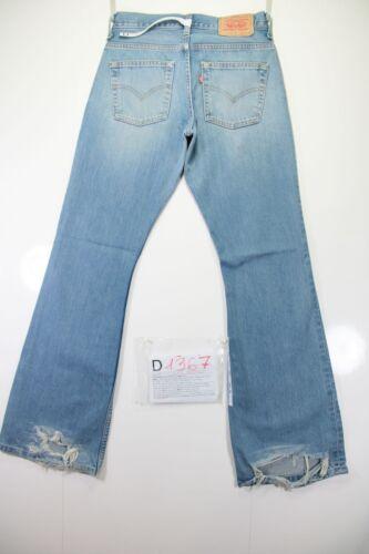 vintage taille patte cod L34 516 44 Jeans tg utilisés W30 Bootcut D1367 haute Levi's TOvyUqq
