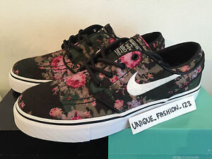 separation shoes c00d9 3f3a6 Image is loading NIKE-ZOOM-STEFAN-JANOSKI-SB-PR-FLORAL-UK-