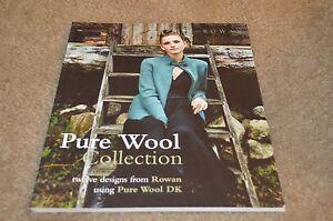 3b845bdb6048 Image is loading Rowan-Knitting-Pattern-Book-Pure-Wool-DK-Collection