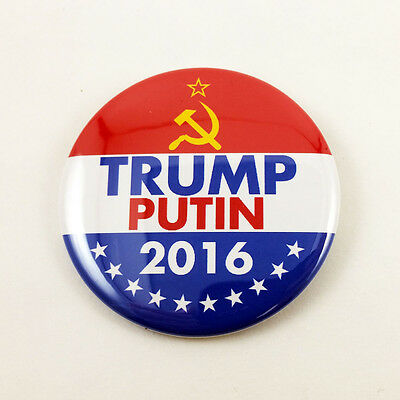 Dump Trump Drumpf Anti Trump Campaign Slogan 2 1//4 Pinback button