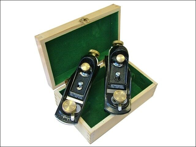 No.9.1 2 & No.60.1 2 Block Planes in Wooden Box -  Tools - FAIPLANEBPS