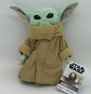 Disney-Store-The-Child-Plush-Star-Wars-The-Mandalorian-11-039-039-Baby-Yoda-Stuffed