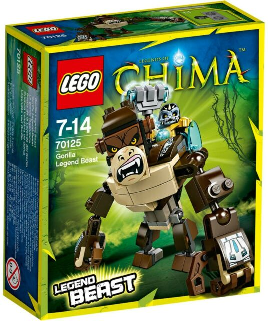 LEGO Chima Gorilla Legend #70125 inc. Gorzan BNIB - 2014 Release ***RARE***