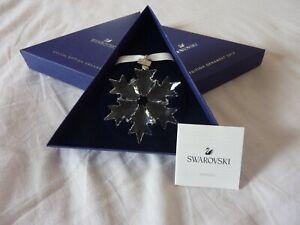 8981fef974d40 Details about Swarovski Snowflake Star Annual Christmas Ornament Decoration  2018 BNIB 5301575