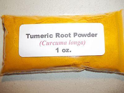 1 oz. Tumeric (Turmeric) Root Powder (Curcuma longa)