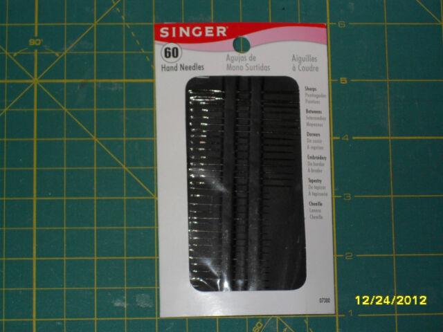 60 Count SINGER Assorted Hand Needles