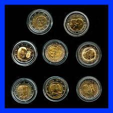 8 X 2 EURO COMMEMORATIVE LUXEMBOURG 2004 A 2011   BEL ETAT