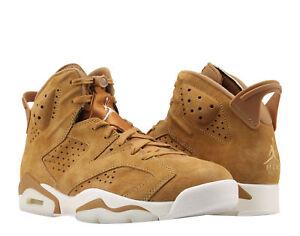 7d2a3f76c713 Nike Air Jordan 6 Retro Golden Harvest Wheat Men s Basketball Shoes ...