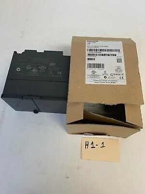 NEW SEALED SIEMENS SIMATIC S7 6ES7307 1BA00 0AA0 POWER SUPPLY