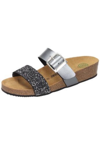 92 Brinkmann 42 Dr Neu18 36 Pantoufles Femme Sandals Argent 701036 Gr SES6gz