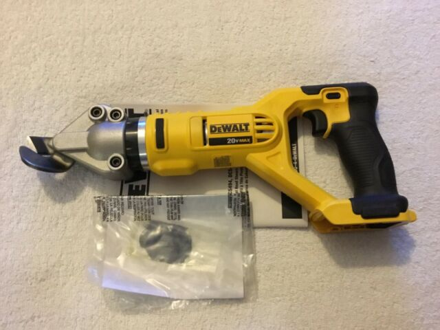 DeWALT DCS491B 20-Volt 18-Gauge 2,450-Spm Swivel Metal Shears Bare Tool