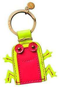 Paul-Smith-Womens-Leather-FROG-Keyring-Keyfob-RARE