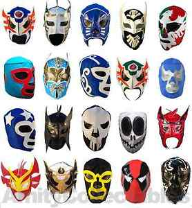 Image is loading MEXICAN-WRESTLING-MASK-Mixed-Styles-Halloween-Costume -Masks-  sc 1 st  eBay & MEXICAN WRESTLING MASK [Mixed Styles] Halloween Costume Masks ...