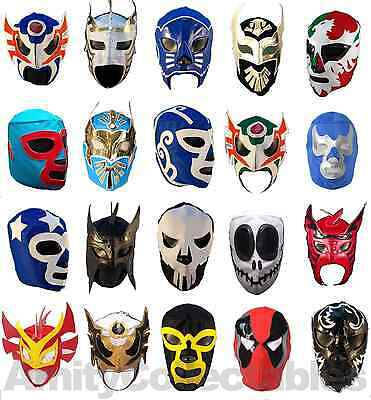 Masks NEW MEXICAN WRESTLING MASK Costume Style 1 Lucha Libre Fancy Dress