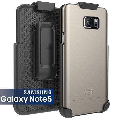 new concept 6c993 a90d3 Samsung Galaxy Note 5 Case & Belt Clip Holster Encased Ultra-thin SlimShield