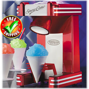 Snow-Cone-Maker-Single-Home-Stainless-Steel-Blades-Commercial-Ice-Cube-Machine