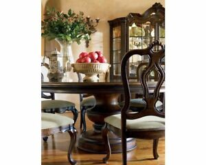 Details About Thomasville Hills Of Tuscany 5 Pc Dining Dinette Set 60 Round Table W 4 Chairs