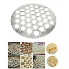 37 Holes Dumpling Mould Tools Dumplings Maker Ravioli Aluminum Mold Pelmeni Dumplings Kitchen DIY Tools Make Pastry Dumpling
