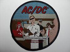 AC/DC   Dirty Deeds Done Dirt Cheap   WOVEN  PATCH