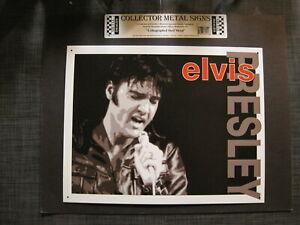Elvis Presley Metal Wall Sign