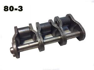 "1/"" Pitch #80 Standard Roller Chain Offset Link"