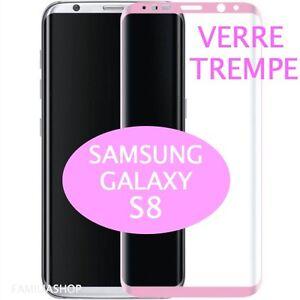 Film en verre intégral Noir Galaxy S8 DtGnyfzF