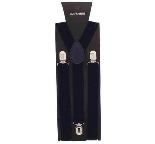 Zac/'s Alter Ego� Men// Ladies Adjustable 25mm Width Plain Braces// Suspenders