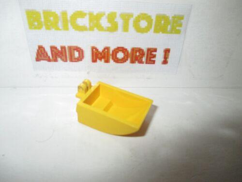 Lego 1x hinge bucket 2 x 3 curved bottom 4626 yellow//yellow//gelb