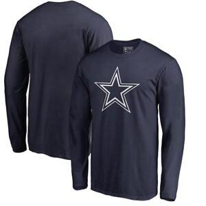 Dallas-Cowboys-Logo-manches-longues-unisexe-shirt-football-champion-ROMO-Prescott