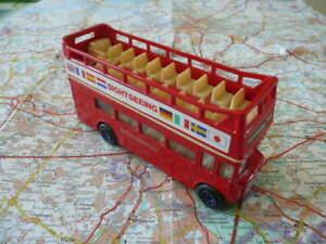 LEYLAND Routemaster  Bus à Impérial Sightseeing Tour Ancien CORGI